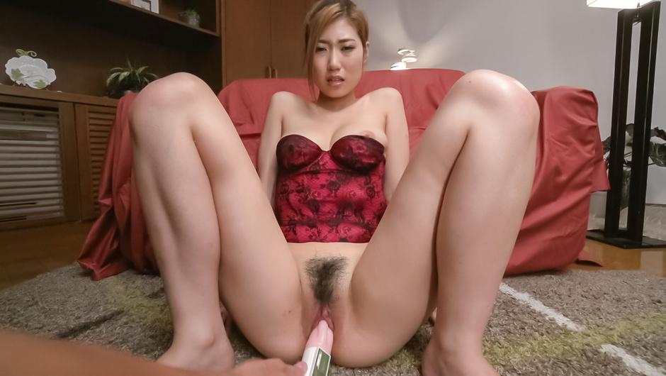 Young Kanako Kimura尝试日本BG迪尔多的凸轮 – JAVHD